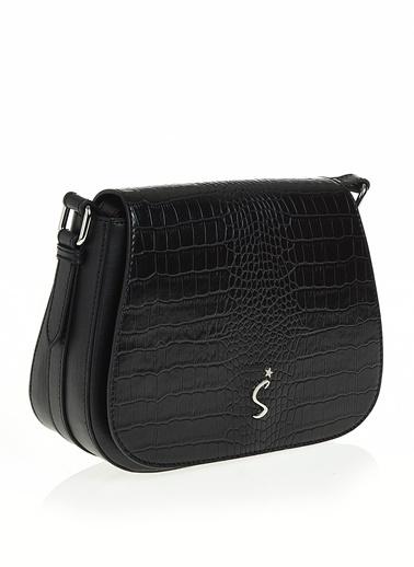Sim Messenger / Askılı Çanta Siyah